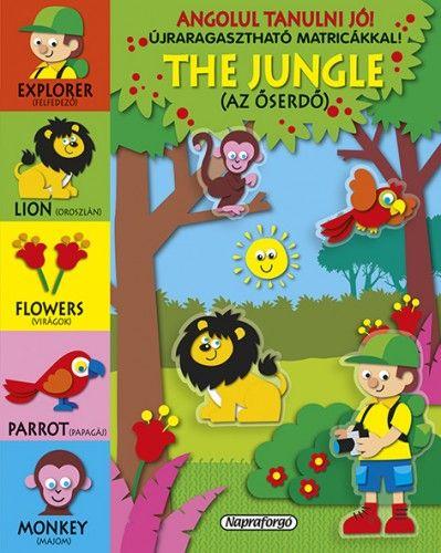 Angolul tanulni jó! - The Jungle - Újraragasztható matricákkal!