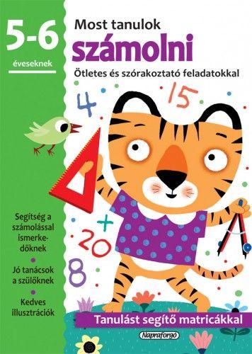Most tanulok... számolni (5-6 éveseknek)