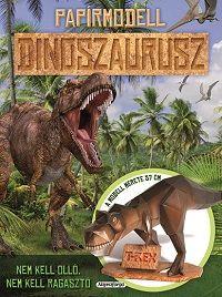 Papírmodell - Dinoszaurusz -  pdf epub