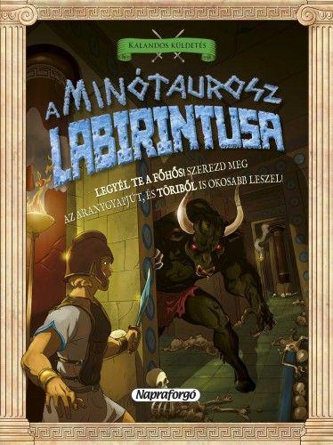 A Minótaurosz labirintusa - David Glover pdf epub