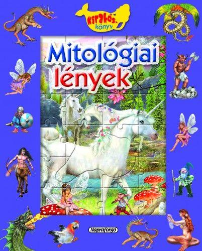 Ablakos kirakóskönyv - Mitológiai lények -  pdf epub
