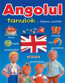 Angolul tanulok - Képes szótár -  pdf epub