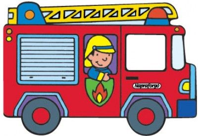 Autókönyvek - Tűzoltóautó