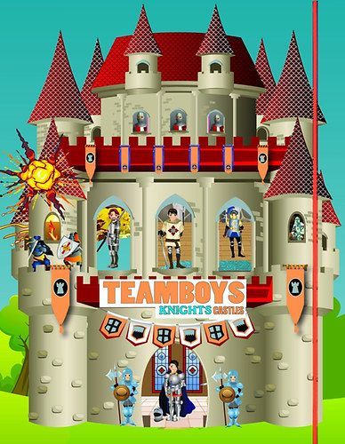 TeamBoys House - Knights Castles