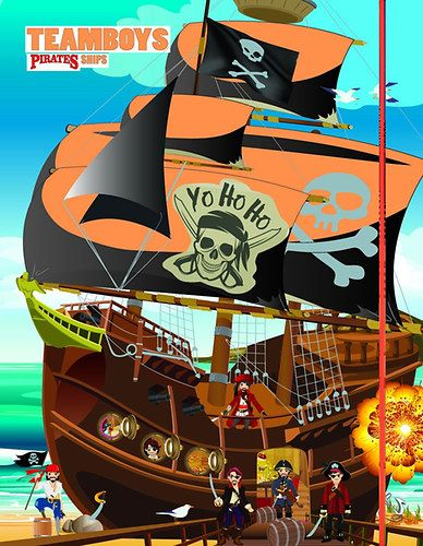 TeamBoys House - Pirates Ship