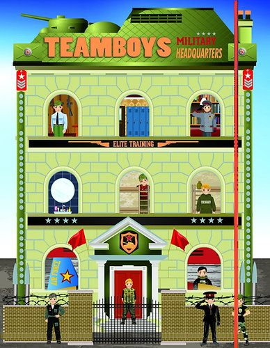 TeamBoys House - Military Headquarters