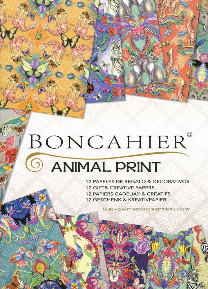 Boncahier - Animal Print - 50314 -  pdf epub