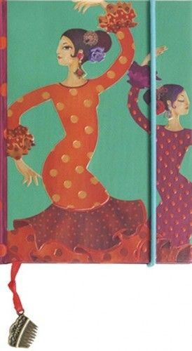 Boncahier napló - Flamenco mini - 86493