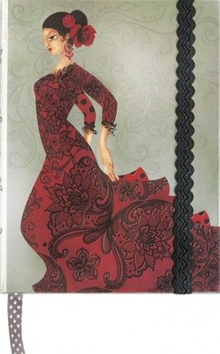 Boncahier notesz - Flamenco - 86547