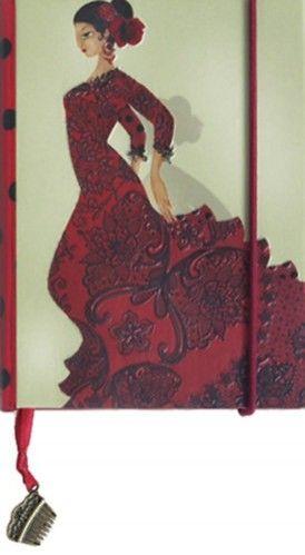 Boncahier notesz - Flamenco mini - 86509