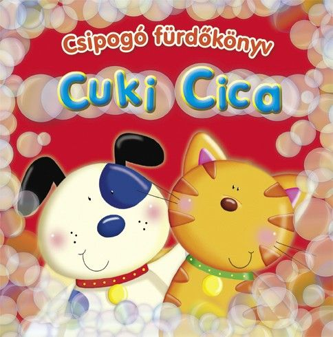 Csipogó fürdőkönyv - Cuki Cica -  pdf epub