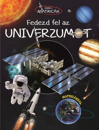 Fedezd fel az univerzumot - Űrbéli matricák -  pdf epub