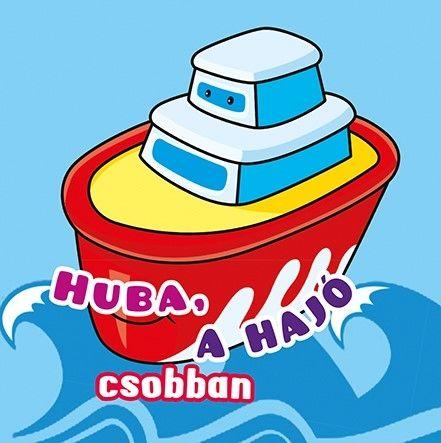 Fürdőkönyvek - Huba, a hajó csobban -  pdf epub