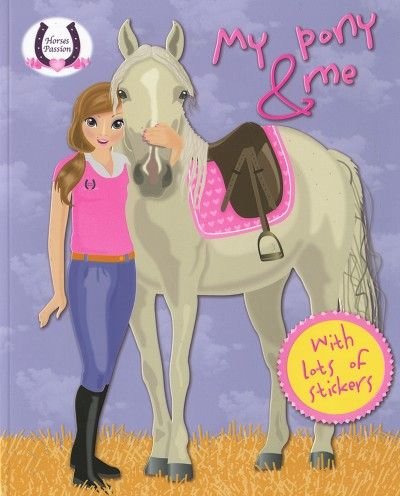 Horses Passion - My Pony and me (purple) - Princess TOP