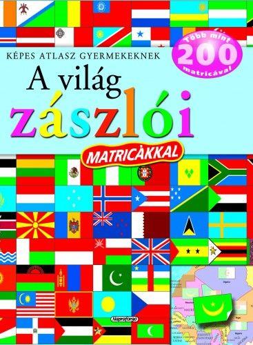 A világ zászlói matricákkal