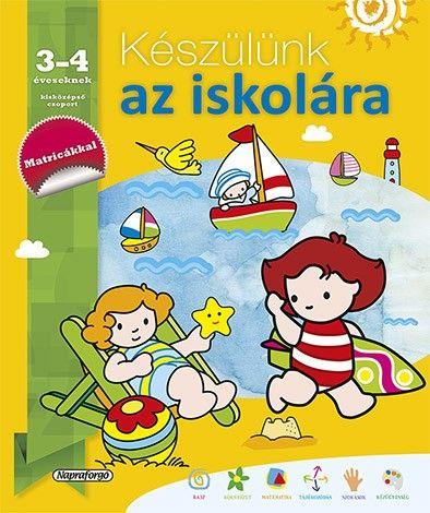 Készülünk az iskolára... 3-4 éveseknek - García María Luisa |