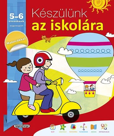 Készülünk az iskolára... 5-6 éveseknek - García María Luisa pdf epub