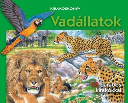 Kirakóskönyv - Vadállatok -  pdf epub