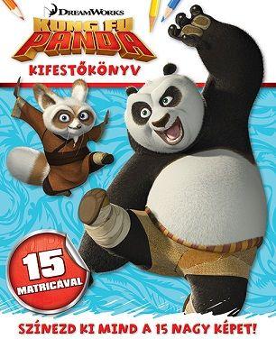 Kung Fu Panda - kifestőfüzet matricákkal