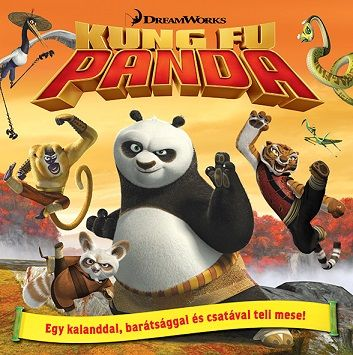Kung Fu Panda - mesekönyv