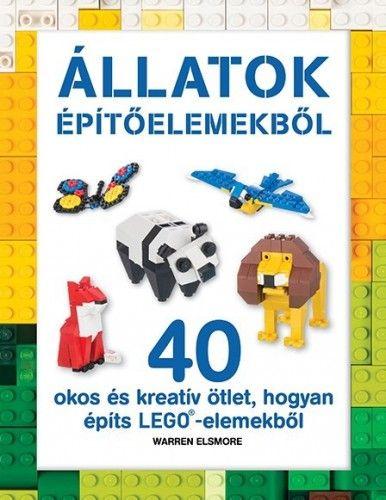 LEGO - Állatok építőelemekből