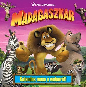 Madagaszkár - mesekönyv