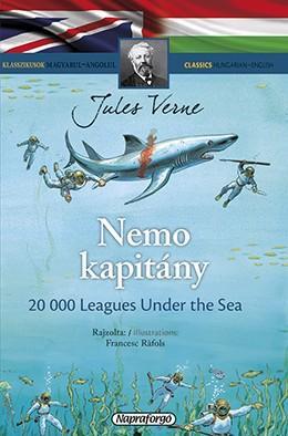 Nemo kapitány - Klasszikusok magyarul-angolul