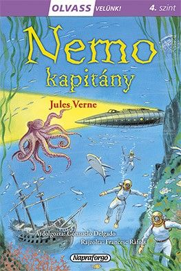 Olvass velünk! (4) - Némó kapitány - Jules Verne pdf epub