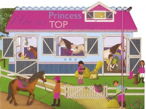 Princess TOP - Horses: a funny day (pink) -  pdf epub