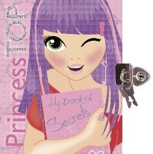 Princess TOP - My Book of Secrets (pink)