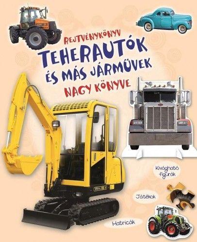 Rejtvénykönyv - Teherautók és más járművek nagy könyve