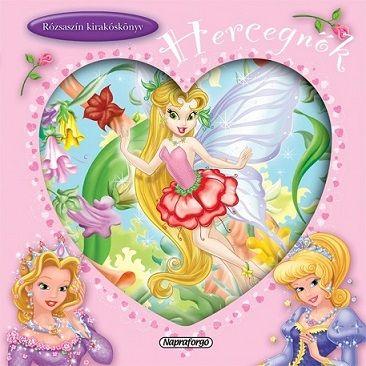 Rózsaszín kirakóskönyv - Hercegnők