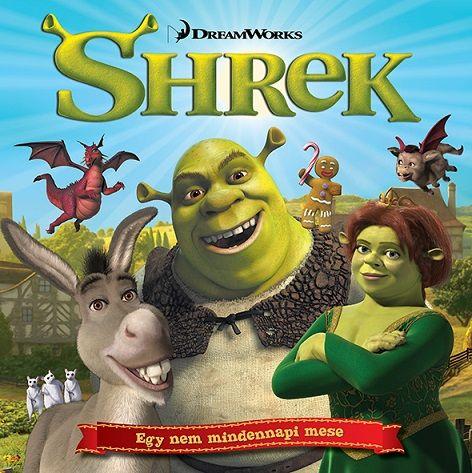 Shrek - mesekönyv