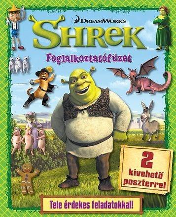 Shrek - foglalkoztatófüzet