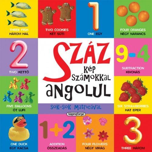 Száz kép számokkal angolul