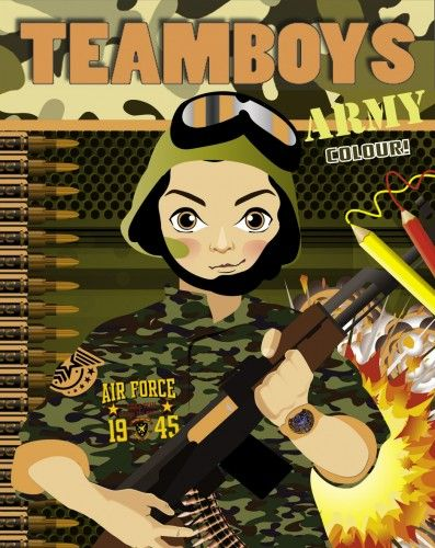 TeamBoys Colour - Army