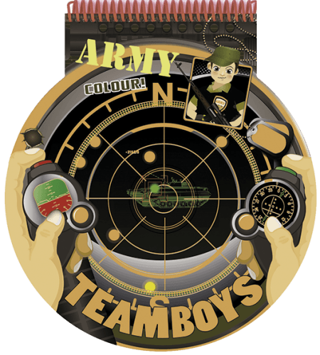 TeamBoys Stencil - Army