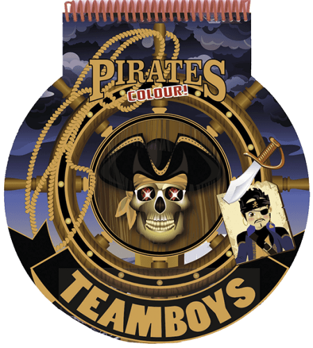 TeamBoys Stencil - Pirates