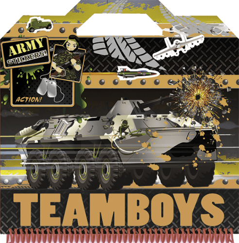 TeamBoys Sticker - Army -  pdf epub