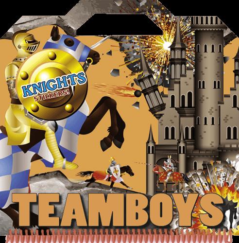 TeamBoys Sticker - Knights -  pdf epub