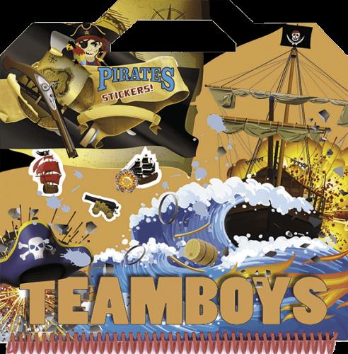 TeamBoys Sticker - Pirates