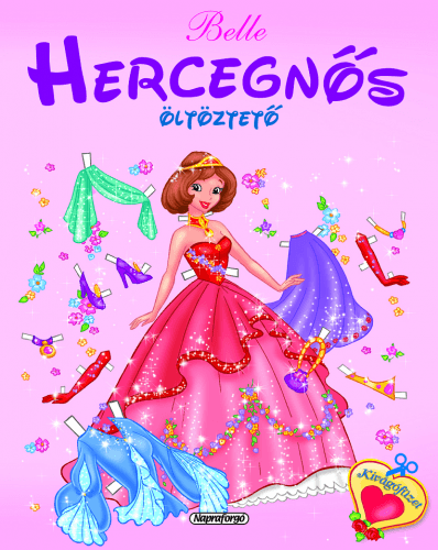 Hercegnős öltöztető - Belle
