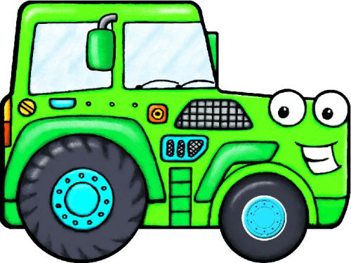 MÁR EDIT - Berregő járművek - Traktor
