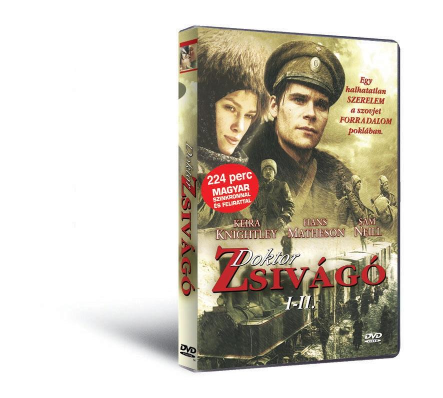 Doktor Zsivágó I-II. - DVD - 2002