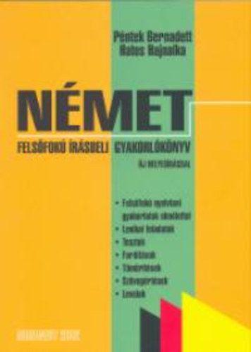 Német felsőfokú írásbeli gyakorlókönyv