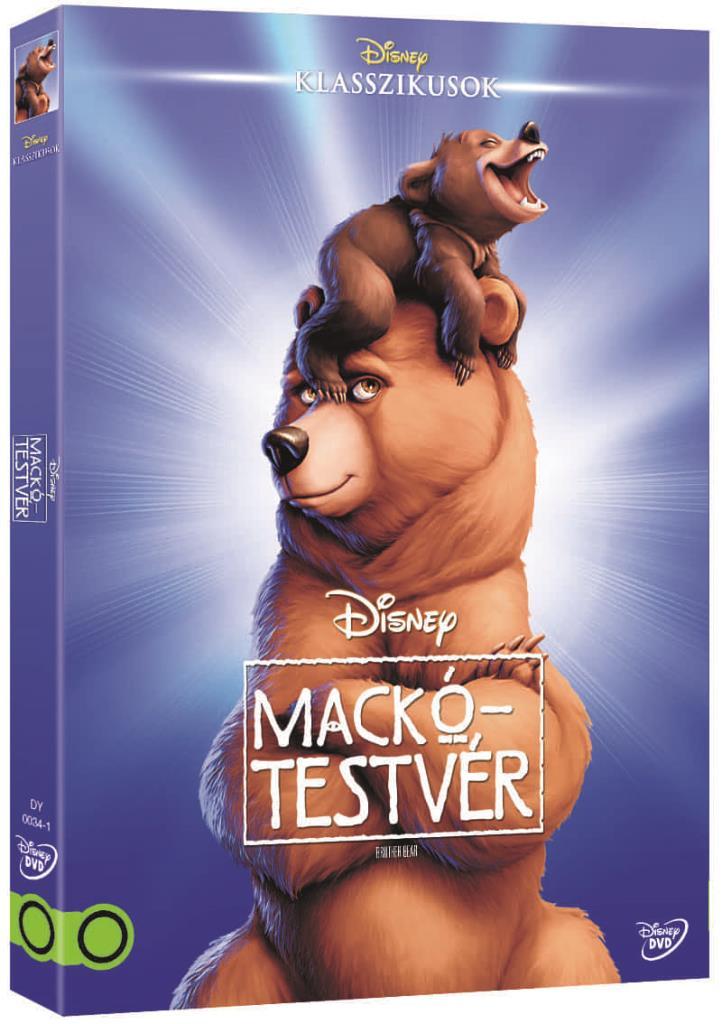 Mackótestvér (O-ringes, gyűjthető borítóval) - DVD