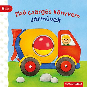 Első csörgős könyvem - Járművek