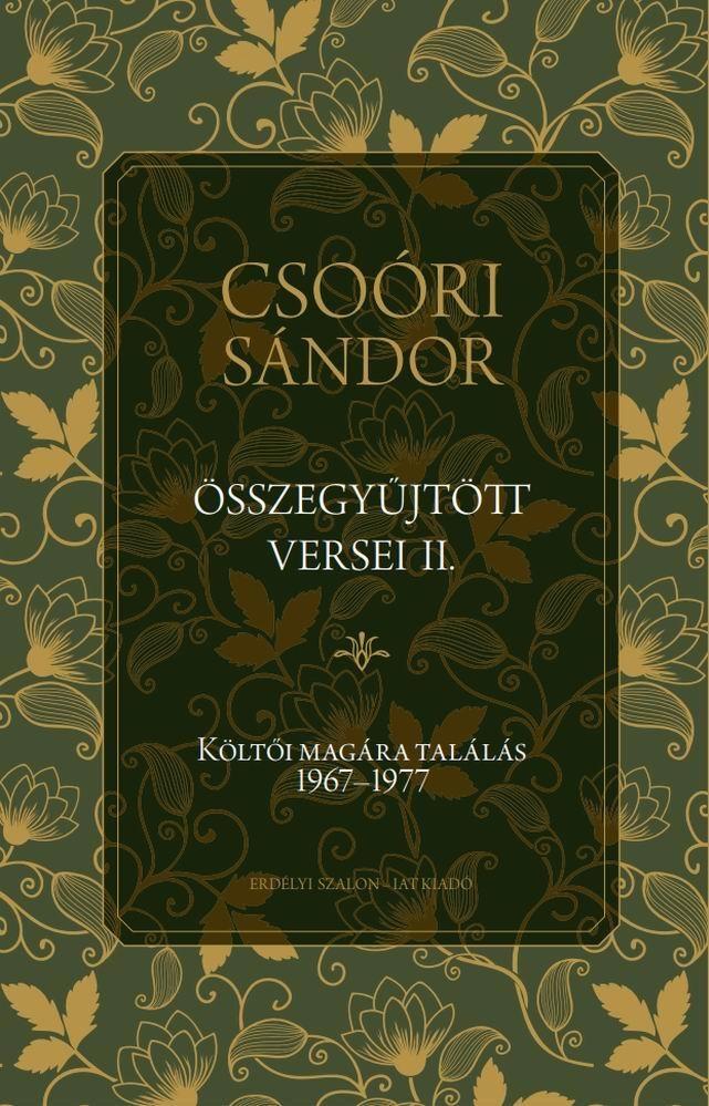 Csoóri Sándor összegyűjtött versei II.