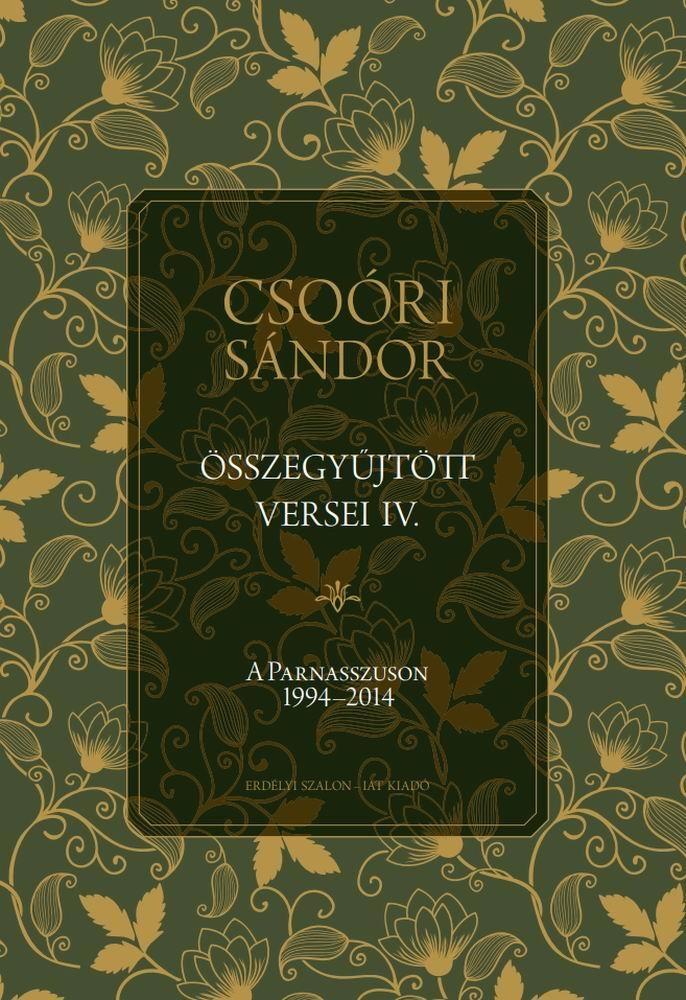 Csoóri Sándor összegyűjtött versei IV.