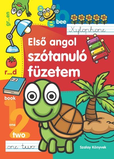 Első angol szótanuló füzetem